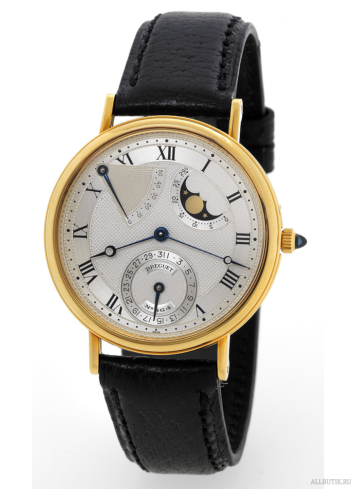Moon Phase Power Reserve Breguet