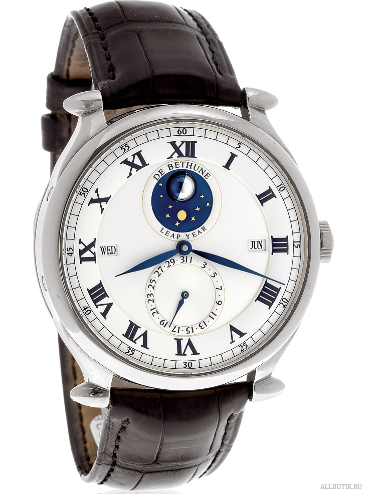3-Dimensional Moon Phase De Bethune