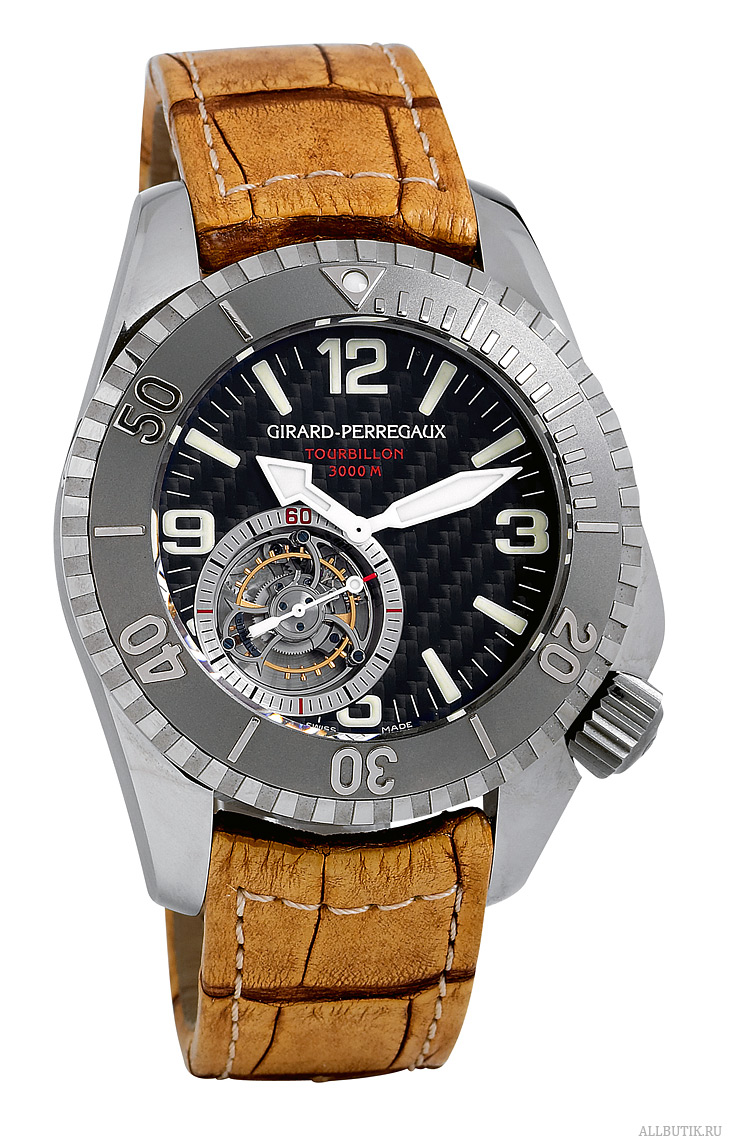 "Titanium Tourbillon SEA HAWK PRO ""Challenger of Record"" Girard-Perregaux"