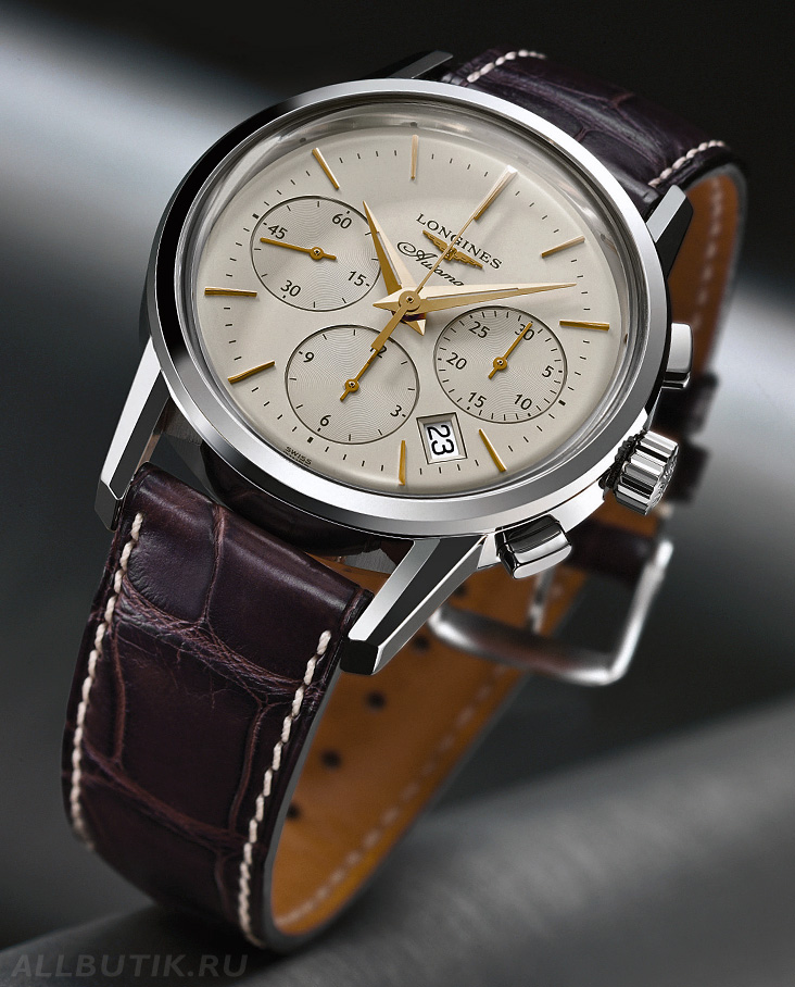 часы Longines Column-Wheel Chronograph