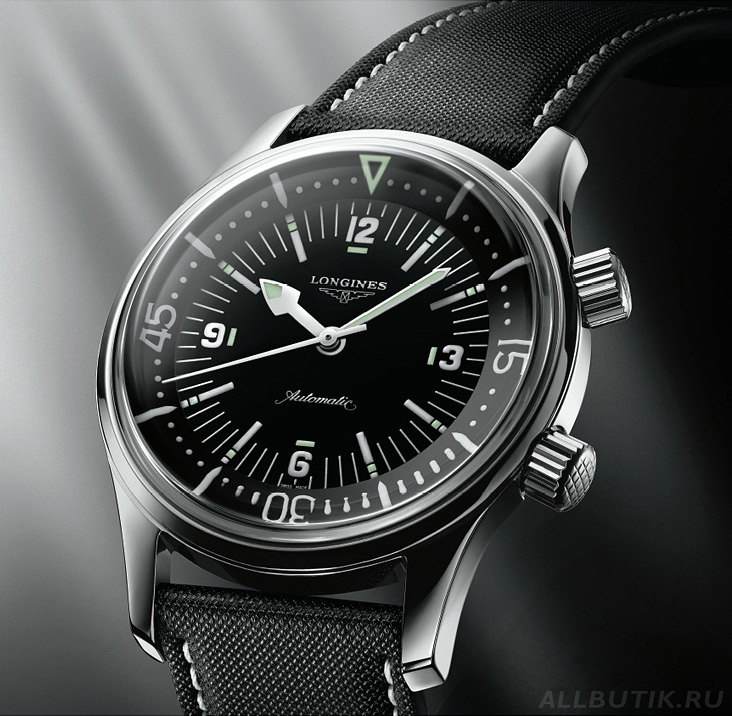 часы - Longines Legend Diver