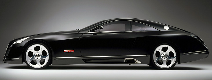 автомобиль 2005 Maybach Exelero