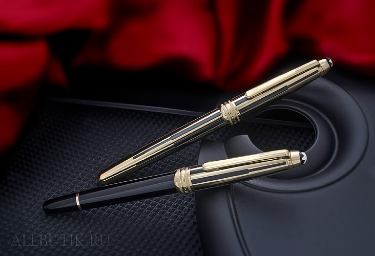 Montblanc Gold and Black