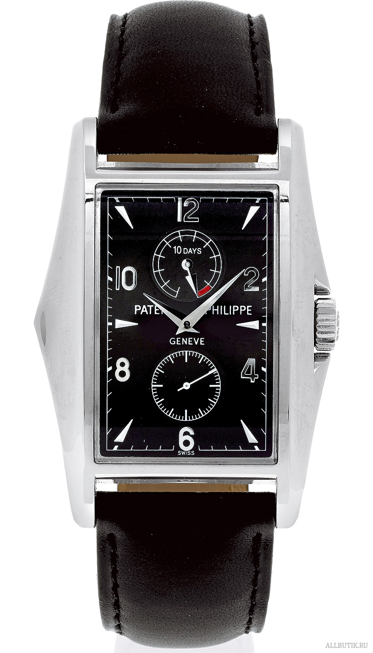 "Platinum 10-Days Patek Philippe, Geneve, ""10-Days"""