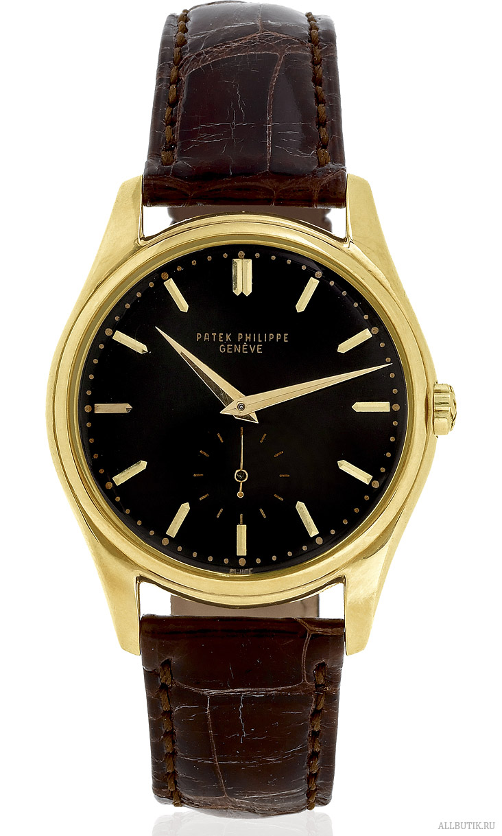 Yellow Gold, Black Dial Patek Philippe