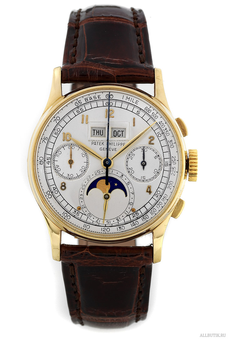 Yellow Gold, 1st Series with Cyclops Lens Patek Philippe 1947