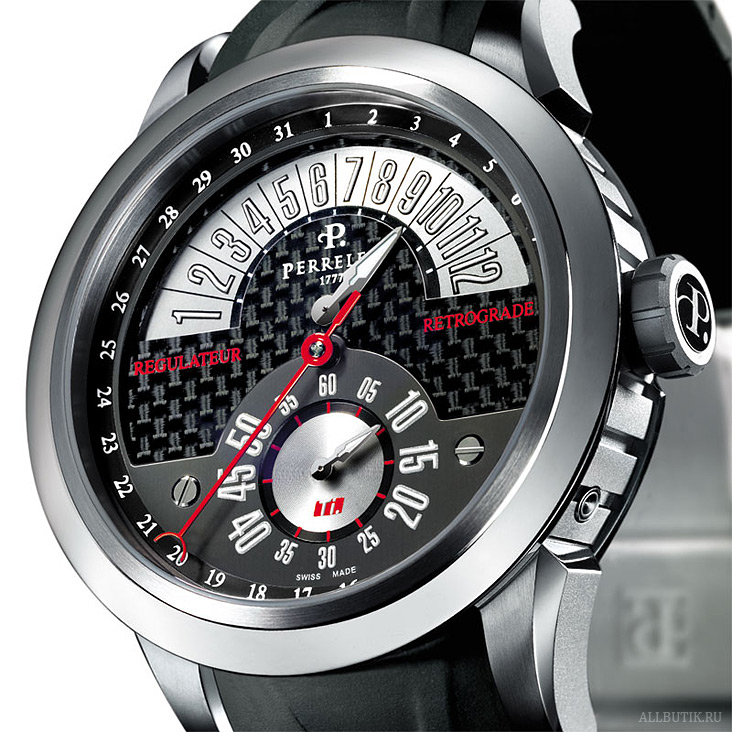 Perrelet The TITANIUM (Ti.) collection A5001 / P-221 calibre