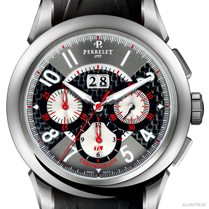 Perrelet The TITANIUM (Ti.) A5003 / P-091 calibre, big date chronograph