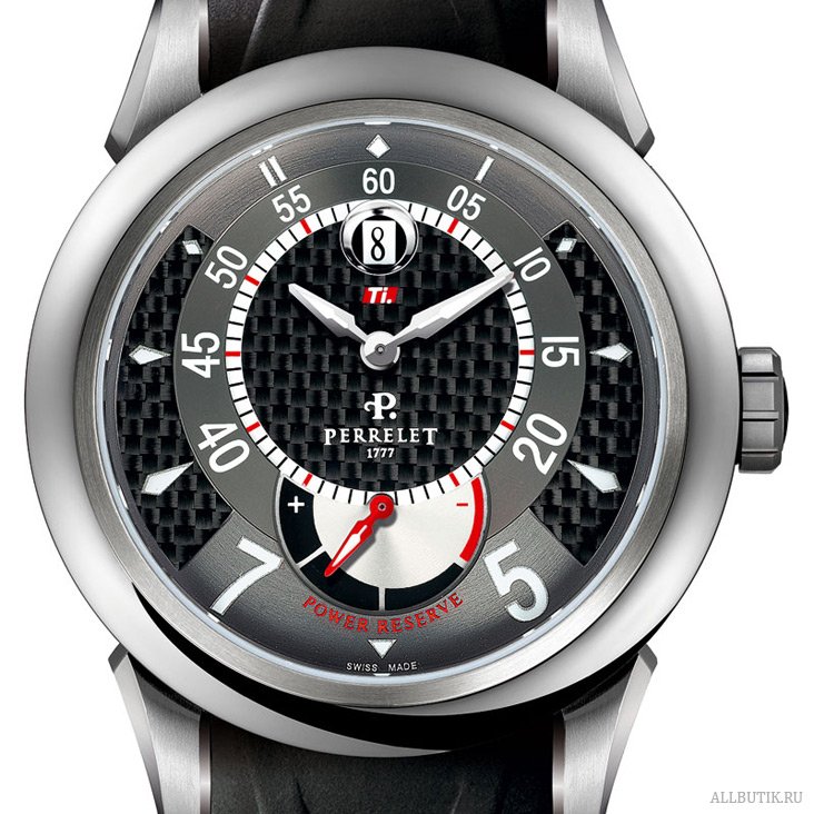 Perrelet The TITANIUM (Ti.) A5004 / P-111 calibre, power reserve