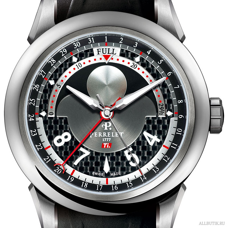 Perrelet The TITANIUM (Ti.) collection A5000 / P-211 calibre