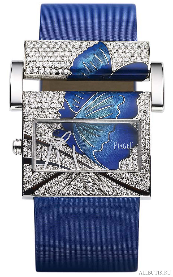 Piaget - The art of enamelling - butterfly watches collection