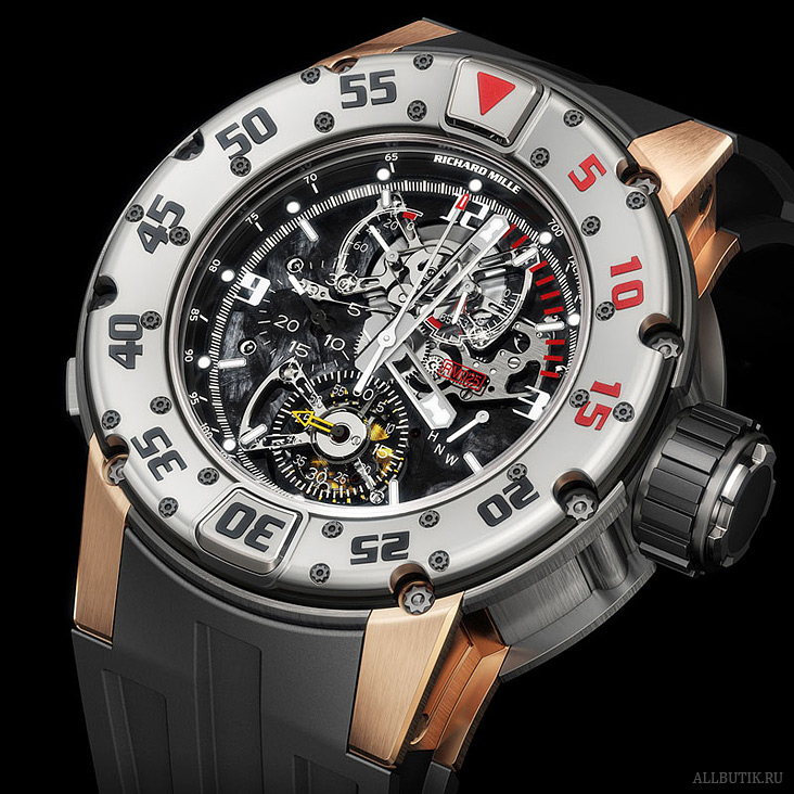 Richard Mille RM 025 tourbillon chronograph diver