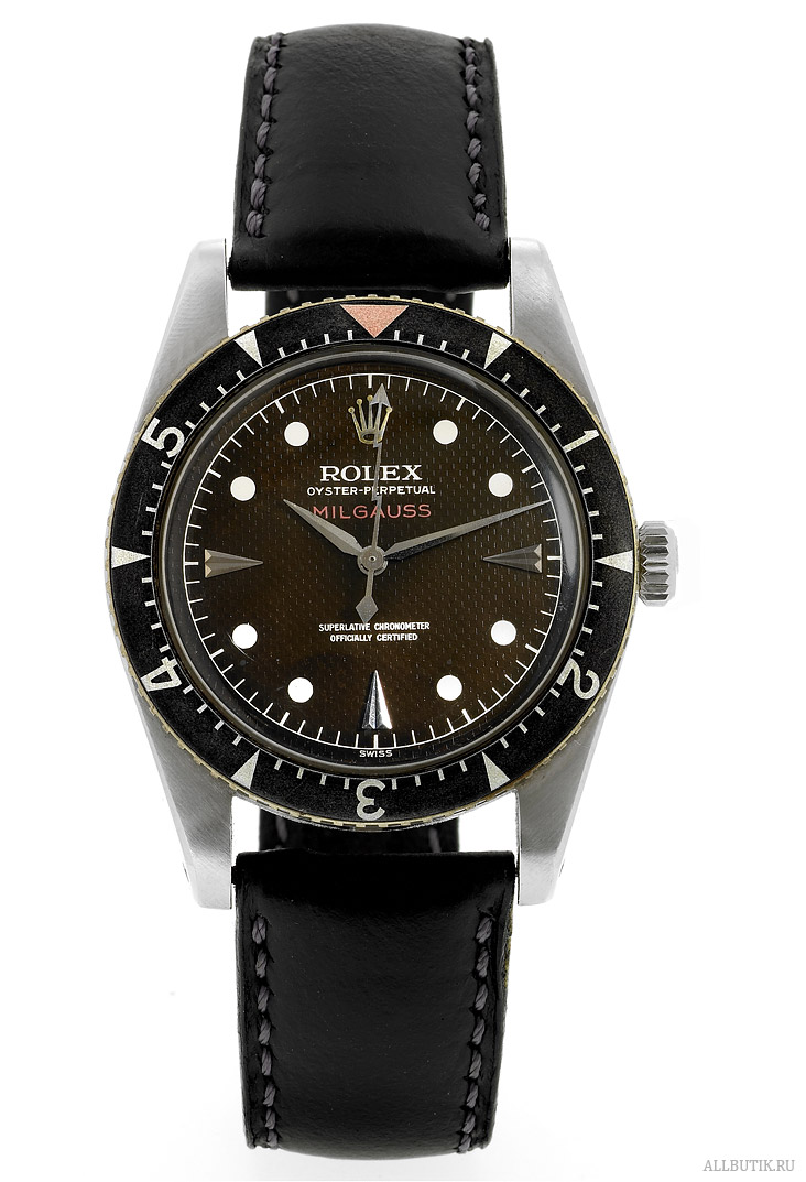 Stainless Steel Milgauss Black Dial Rolex