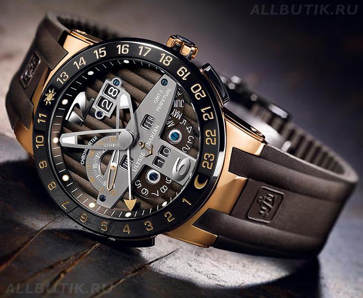 Часы ulysse nardin женские    Мужские наручные часы u boat 064a640efec