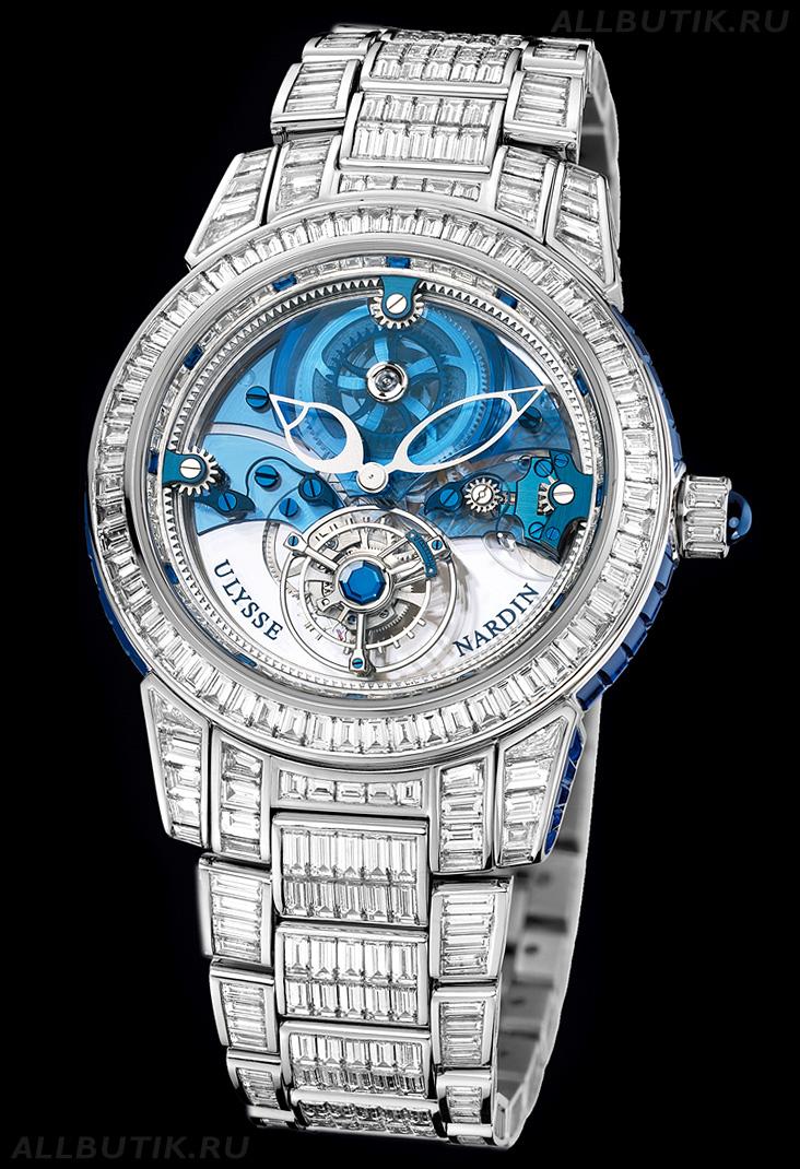 Ulysse Nardin женские часы, оригинал Watches-Master